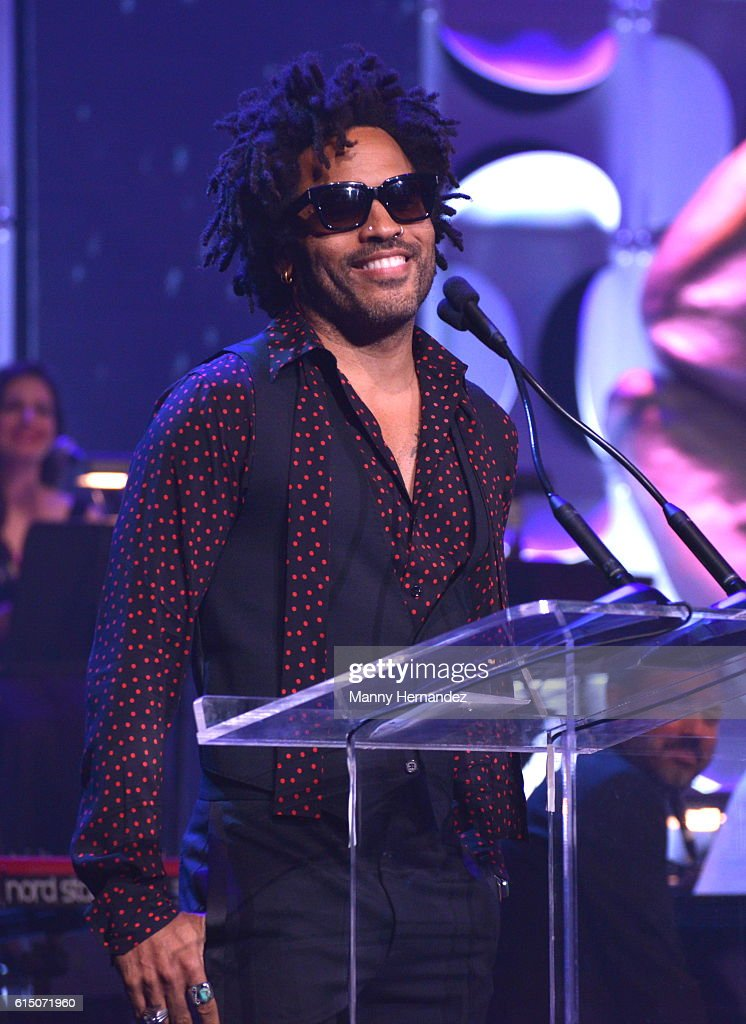 Lenny Kravitz at Latin Songwriters Hall Of Fame La Musa Awards, Miami Beach, FL on October 13, 2016