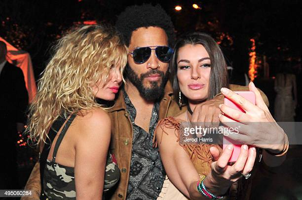 Lenny Kravitz attends Casamigos Tequila Halloween Party on October 30 2015 in Los Angeles California