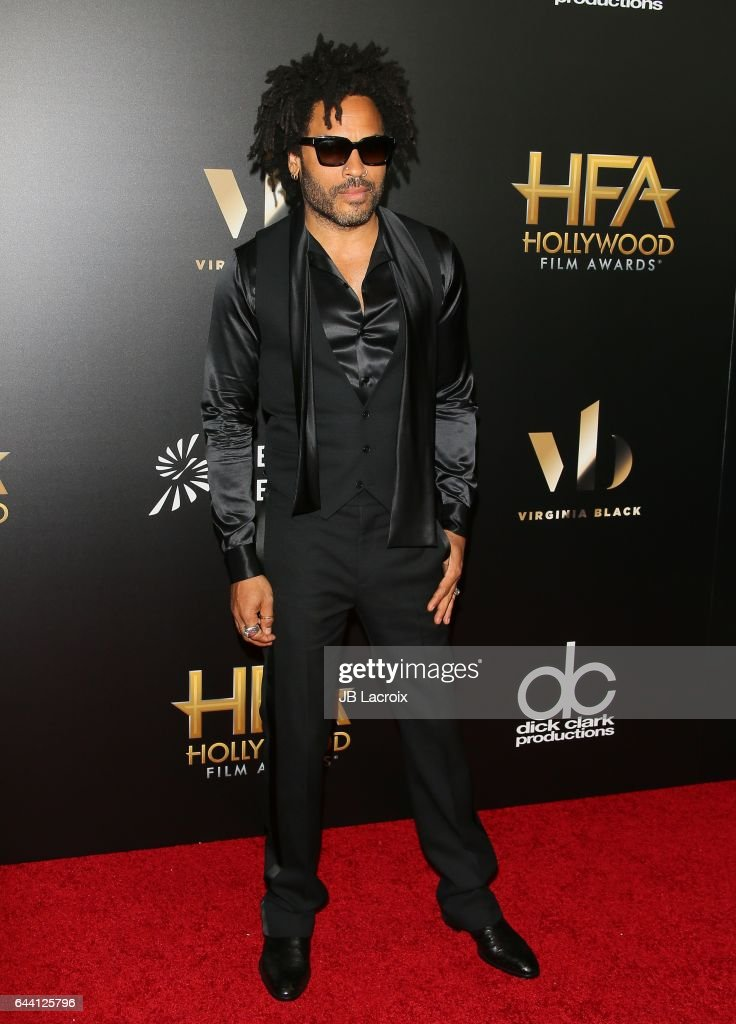 Lenny Kravitz attends the 20th Annual Hollywood Film Awards on November 6, 2016 in Los Angeles, California.