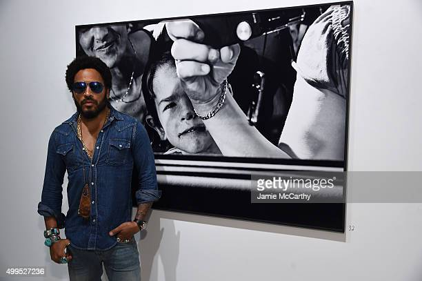 Lenny Kravitz attends the Opening of Lenny Kravitz FLASH Photography Exhibition at Miami Design District on December 1 2015 in Miami Florida