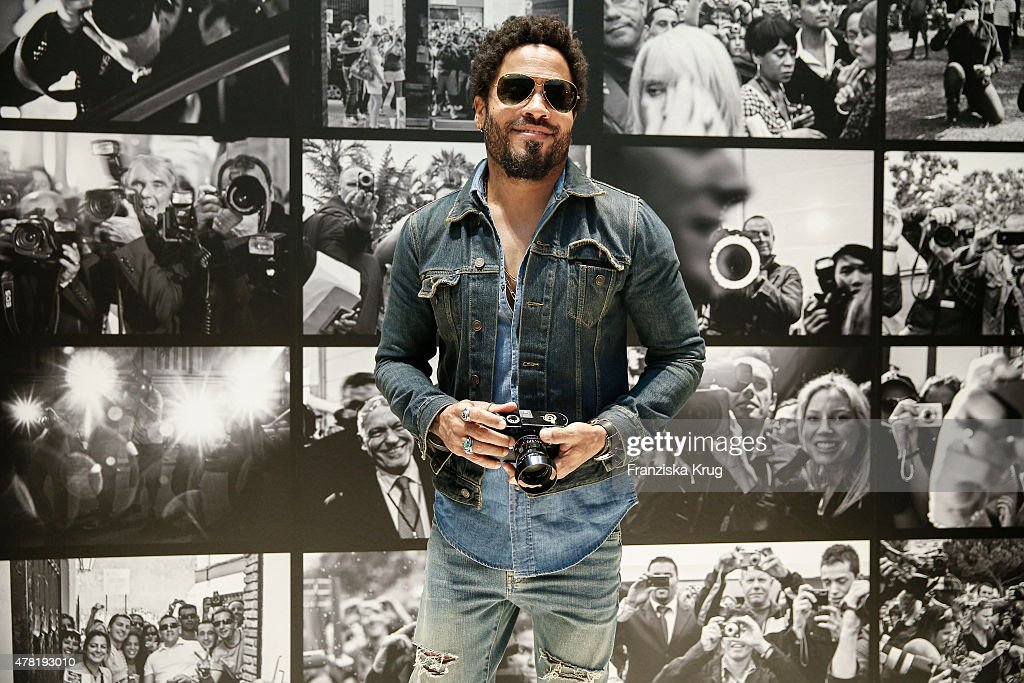 <a gi-track='captionPersonalityLinkClicked' href=/galleries/search?phrase=Lenny+Kravitz&family=editorial&specificpeople=171613 ng-click='$event.stopPropagation()'>Lenny Kravitz</a> attends the vernissage 'Flash by <a gi-track='captionPersonalityLinkClicked' href=/galleries/search?phrase=Lenny+Kravitz&family=editorial&specificpeople=171613 ng-click='$event.stopPropagation()'>Lenny Kravitz</a>' on June 23, 2015 in Wetzlar, Germany.