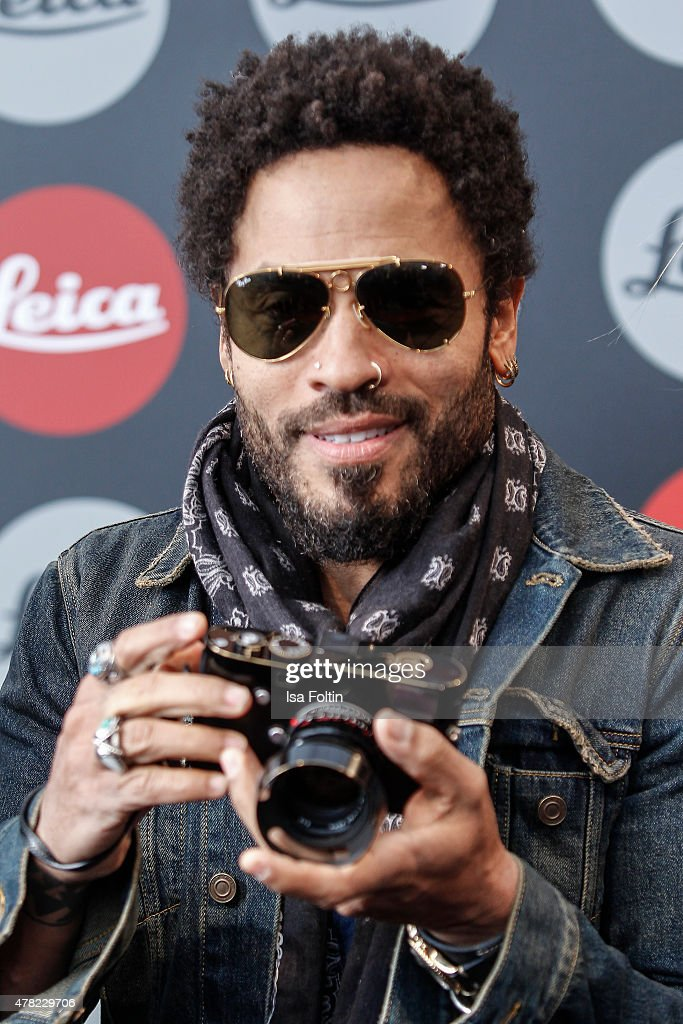 Lenny Kravitz attends the vernissage 'Flash by Lenny Kravitz' on June 23, 2015 in Wetzlar, Germany.