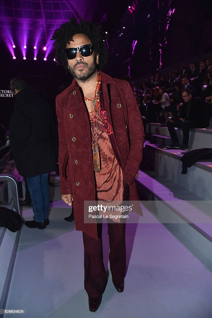 Lenny Kravitz attends the Victoria's Secret Fashion Show on November 30, 2016 in Paris, France.