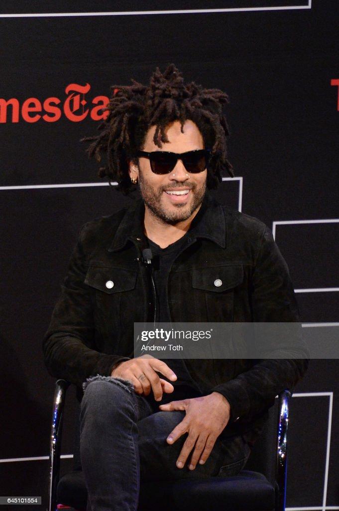 Lenny Kravitz attends TimesTalks at TheTimesCenter on February 24, 2017 in New York City.
