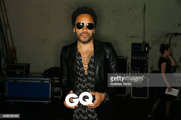 Lenny Kravitz is seen backstage at the GQ Men Of The Year Award 2014 after show party at Komische Oper on November 6 2014 in Berlin Germany