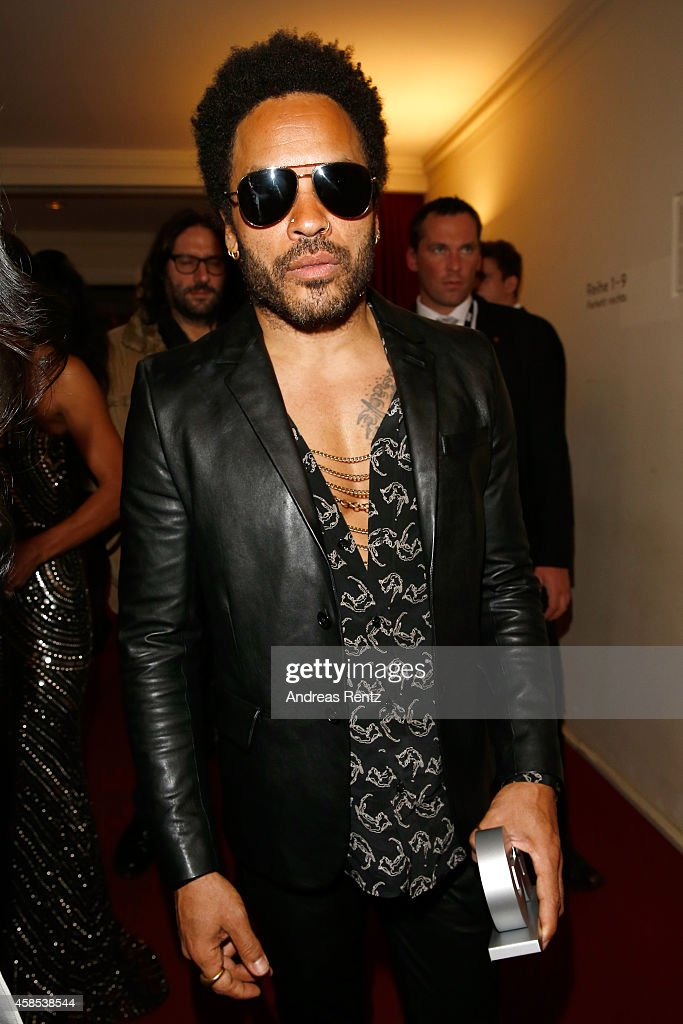 <a gi-track='captionPersonalityLinkClicked' href=/galleries/search?phrase=Lenny+Kravitz&family=editorial&specificpeople=171613 ng-click='$event.stopPropagation()'>Lenny Kravitz</a> is seen on stage at the GQ Men Of The Year Award 2014 at Komische Oper on November 6, 2014 in Berlin, Germany.