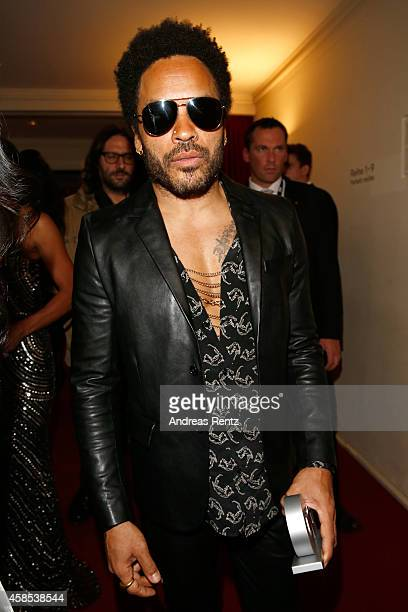 Lenny Kravitz is seen on stage at the GQ Men Of The Year Award 2014 at Komische Oper on November 6 2014 in Berlin Germany