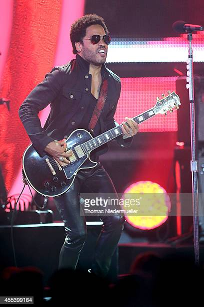 Lenny Kravitz performs during the SWR3 New Pop Festival 'Das Special' at Festspielhaus on September 13 2014 in BadenBaden Germany