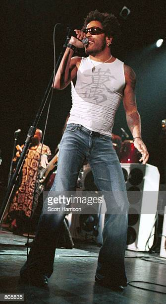 Lenny Kravitz performs in concert July 28 2000 in Las Vegas Nevada