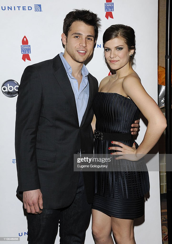 Lenny Platt and Kelley Missal attends the 7th Annual ABC & SOAPnet Salute Broadway Cares/Equity Fights Aids Benefit closing celebration at The New York Marriott Marquis on March 13, 2011 in New York City.