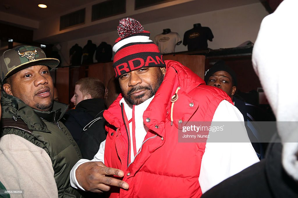Lenny S. and <a gi-track='captionPersonalityLinkClicked' href=/galleries/search?phrase=Ghostface+Killah&family=editorial&specificpeople=618815 ng-click='$event.stopPropagation()'>Ghostface Killah</a> attend The Legendary Tunnel Party at B.B. King Blues Club & Grill on January 31, 2014 in New York City.