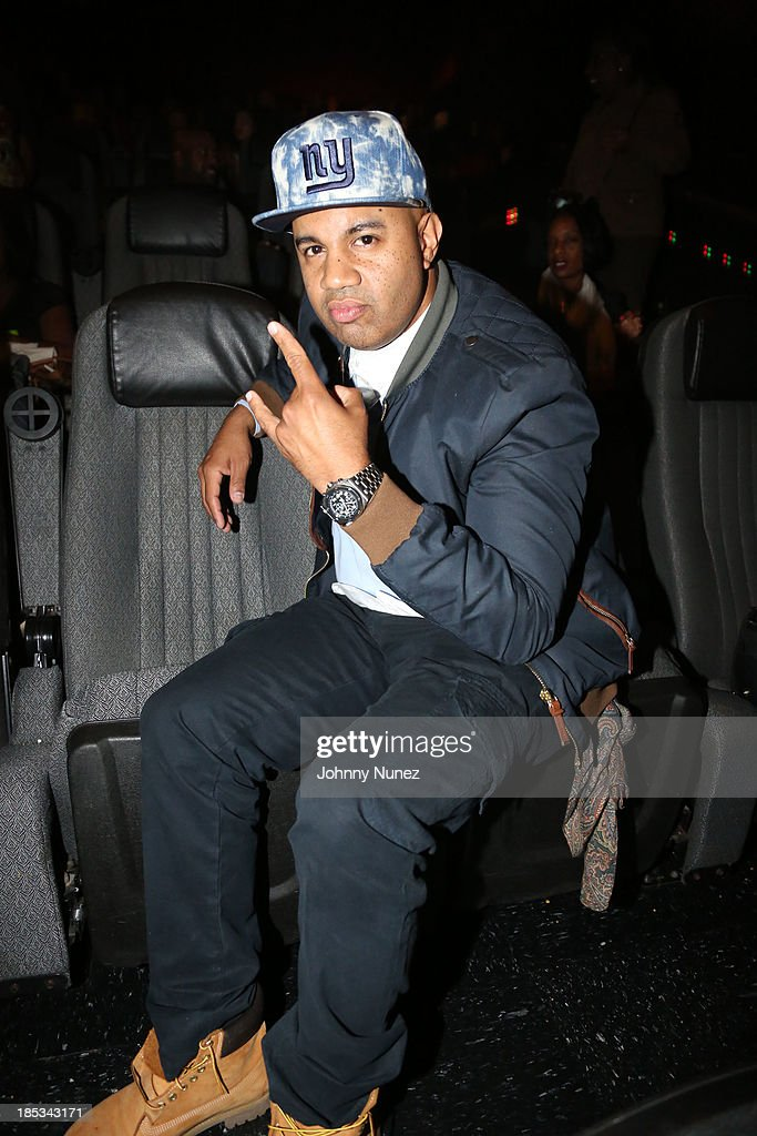 Lenny S attends the 'I'm In Love With a Church Girl' screening at the Regal E-Walk Stadium 13 on October 18, 2013 in New York City.