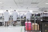 Lenovo notebook computer production line