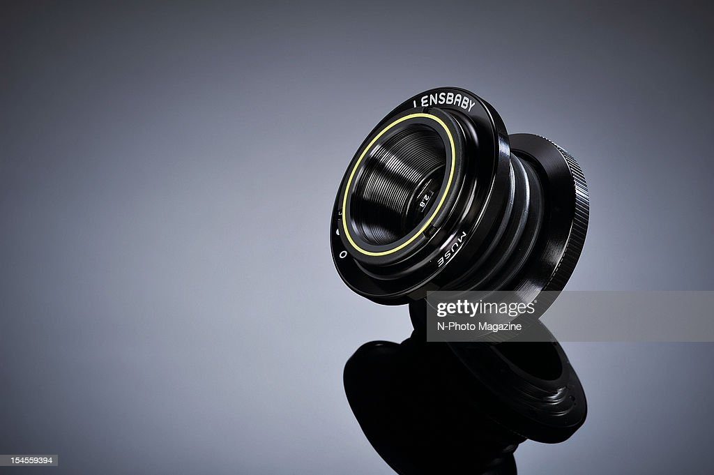 A Lensbaby Muse selective focus lens, taken on March 20, 2012.