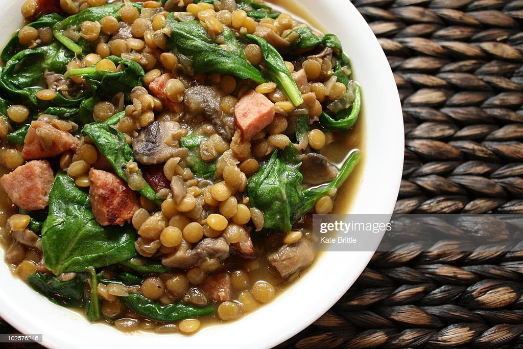Lentil Soup : Stock Photo