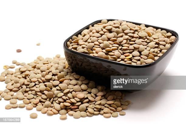 lentils in bowl