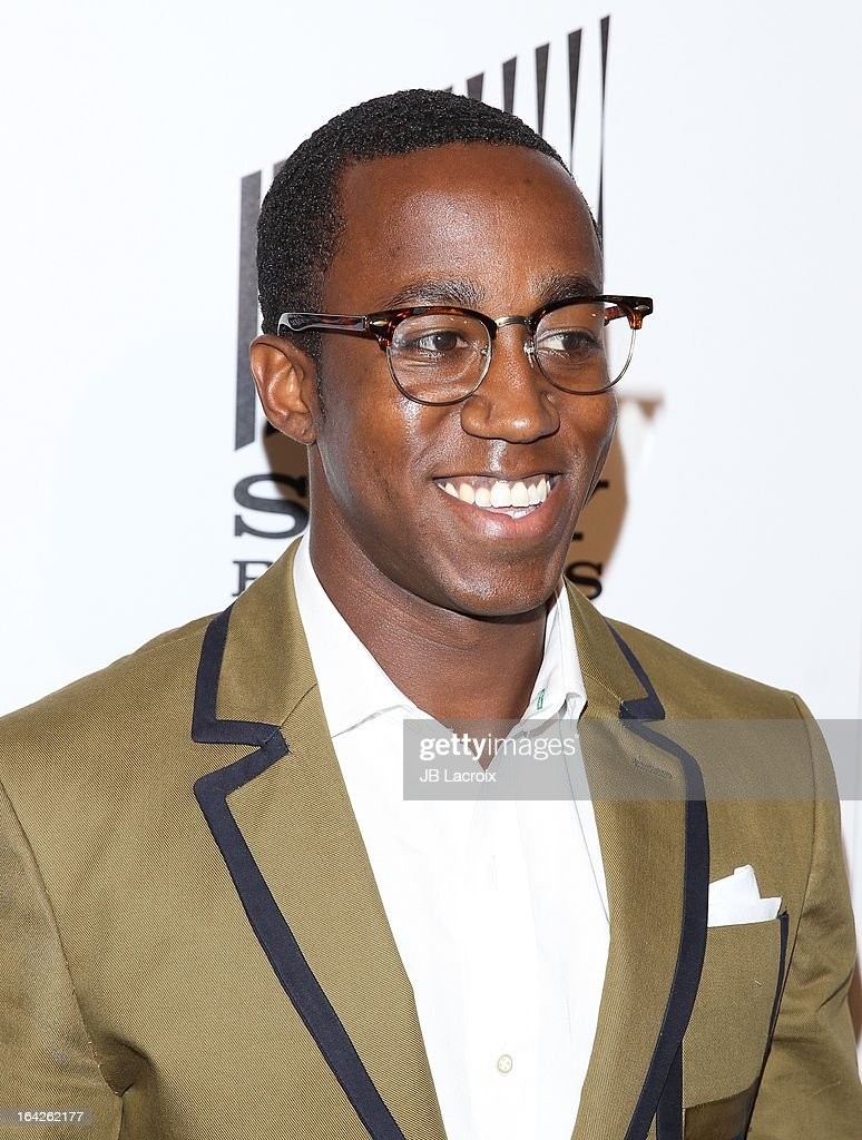Lenworth Poyser attends 'An Evening' benefiting The L.A. Gay & Lesbian Center at the Beverly Wilshire Four Seasons Hotel on March 21, 2013 in Beverly Hills, California.