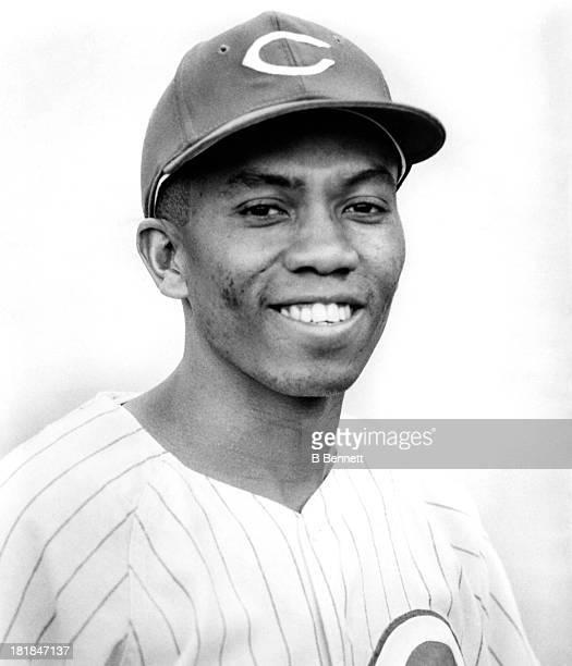 Leo Cardenas of the Cincinnati Reds poses for a portrait circa 1967 in Cincinnati Ohio