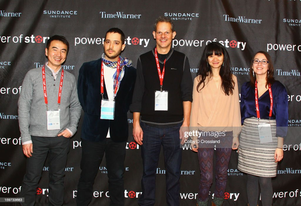 Leo Chiang, Yotam Silberstein, Johnny Symons, Chloe Zhao and Brooke Swaney attend the Power Of Story: Independence Unleashed Panel at Egyptian Theatre during the 2013 Sundance Film Festival on January 19, 2013 in Park City, Utah.