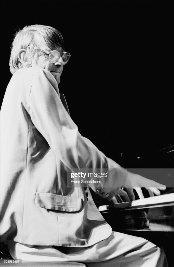 Leo Cuypers, piano, performs at the BIM Huis on 30st January 1994 in Amsterdam, Netherlands.