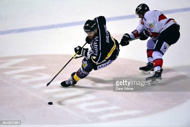 Leo GUILLEMAIN / Norbert ABRAMOV Hockey sur glace Rouen / Briancon 1/2Finale Coupe de France Photo Dave Winter / Icon Sport