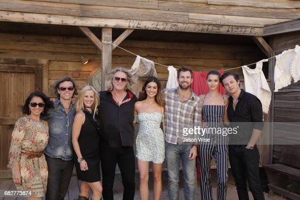 Leo Howard Madeline White Justin Deeley Rachel Brann William Shockley Tiiu Loigu Tommy Feilds and Nikki Boyer attend 'You're Gonna Miss Me' premiere...