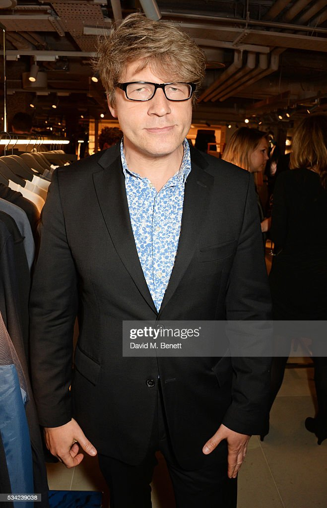Leo Johnson attends the London Evening Standard Londoner's Diary 100th Birthday Party in partnership with Harvey Nichols at Harvey Nichols on May 25, 2016 in London, England.