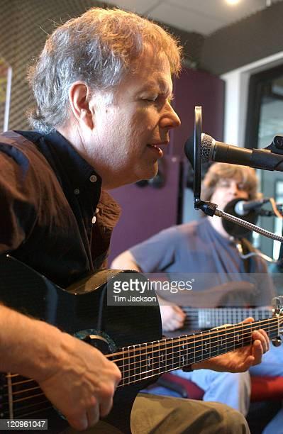 Leo Kottke and Mike Gordon during Leo Kottke and Mike Gordon at KBCO Studio C at KBCO Studio C in Boulder Colorado United States