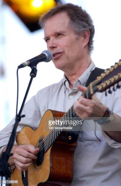 Leo Kottke perfoms at Zilker Park as part of the Austin City Limits Music Festival on September 23 2005 in Austin Texas
