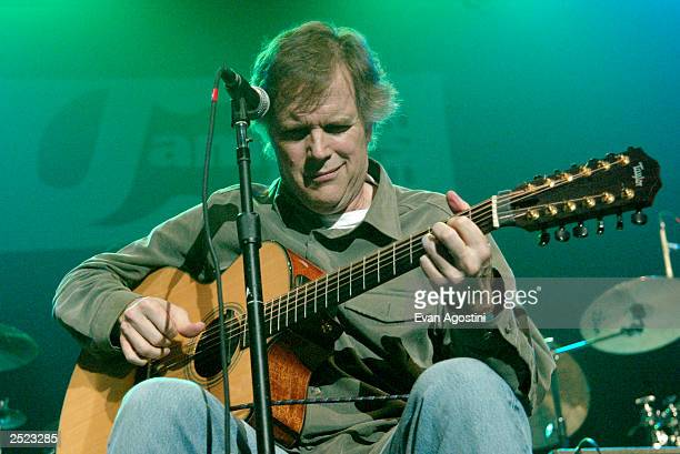 Leo Kottke performing at the 2002 Jammy Awards presented by TDK at Roseland Ballroom in New York City Oct 2 2002 Photo by Evan Agostini/Getty Images