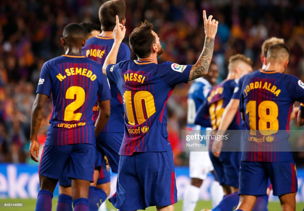 FC Barcelona v RCD Espanyol- La Liga : News Photo