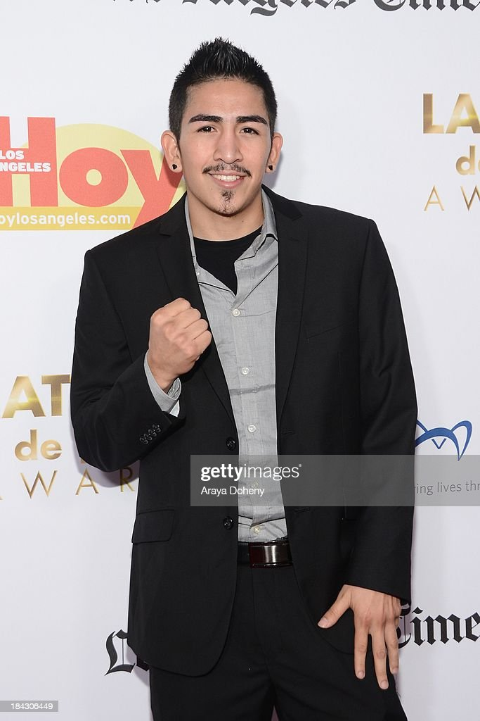 Leo Santa Cruz attends the 2013 Latinos de Hoy Awards at Los Angeles Times' Chandler Auditorium on October 12, 2013 in Los Angeles, California.