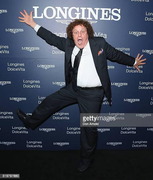 Leo Sayer attends the Longines DolceVita Asia Pacific launch at Museum of Contemporary Art on April 8 2016 in Sydney Australia