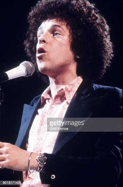 Leo Sayer performs on stage circa 1975