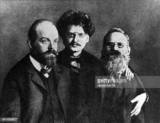 Leo Trotzki*18791940Politiker Revolutionär Russland/UdSSRvl Alexander Helphand Leo Trotzki Leo Deutsch 1906