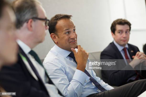 Leo Varadkar Ireland's prime minister speaks during an interview in Toronto Ontario Canada on Aug 21 2017 Varadkarsaid he remains 'confused and...