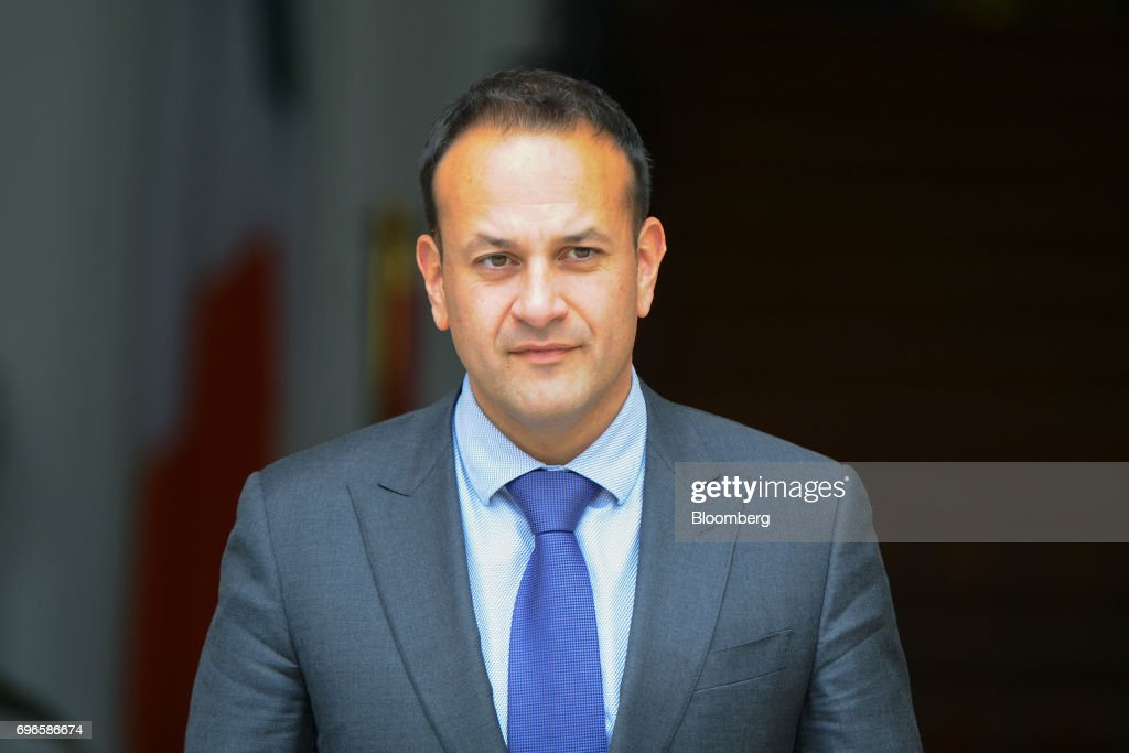Ireland's Prime Minister Leo Varadkar Meets With Politicians From Northern Ireland