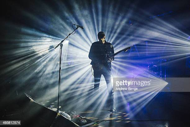 Leo Wyndham of Palace performs on stage at Scala on October 22 2015 in London England