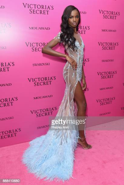 Leomie Anderson attends 2017 Victoria's Secret Fashion Show In Shanghai After Party at MercedesBenz Arena on November 20 2017 in Shanghai China