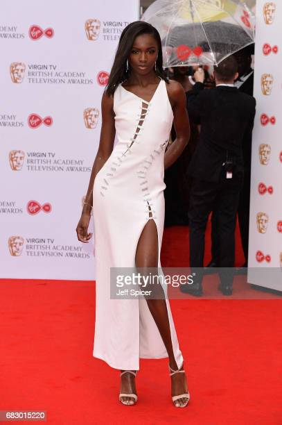 Leomie Anderson attends the Virgin TV BAFTA Television Awards at The Royal Festival Hall on May 14 2017 in London England