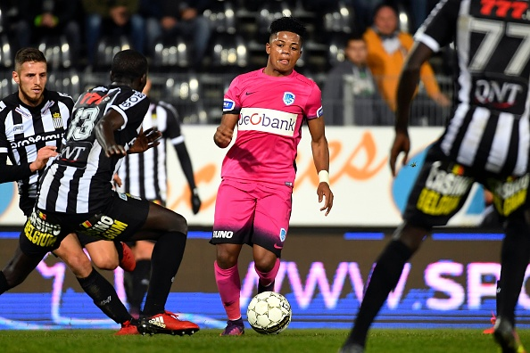 Charleroi v Genk- Belgian Cup : News Photo