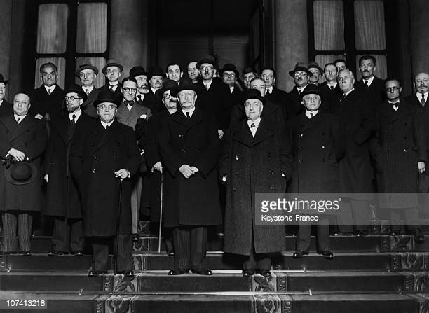 Leon Blum Cabinet On March 1938