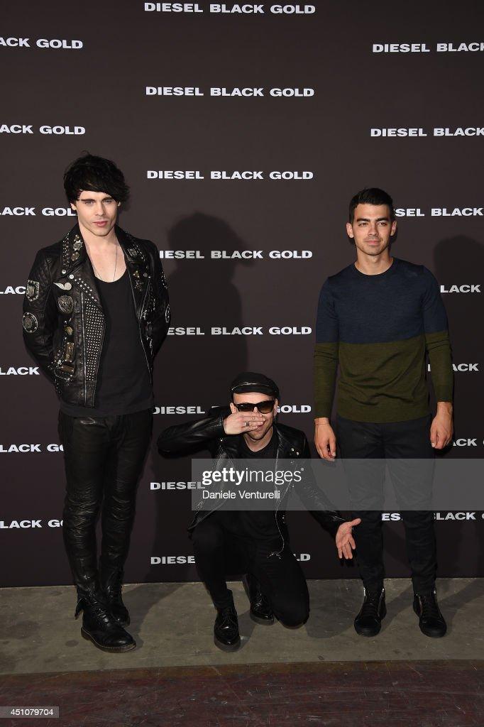Diesel Black Gold - Front Row - Milan Fashion Week Menswear Spring/Summer 2015