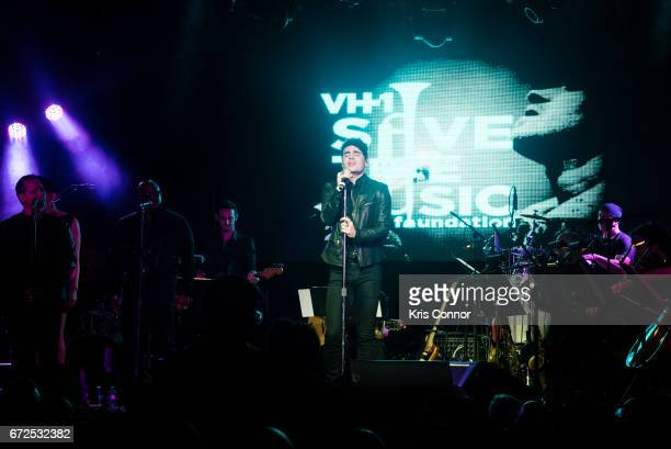 Leon Else performs during the George Michael Tribute Concert presented by VH1's Save The Music at Highline Ballroom on April 24 2017 in New York City
