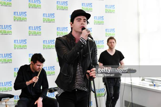 Leon Else performs on 'The Elvis Duran Z100 Morning Show' at Z100 Studio on May 18 2017 in New York City