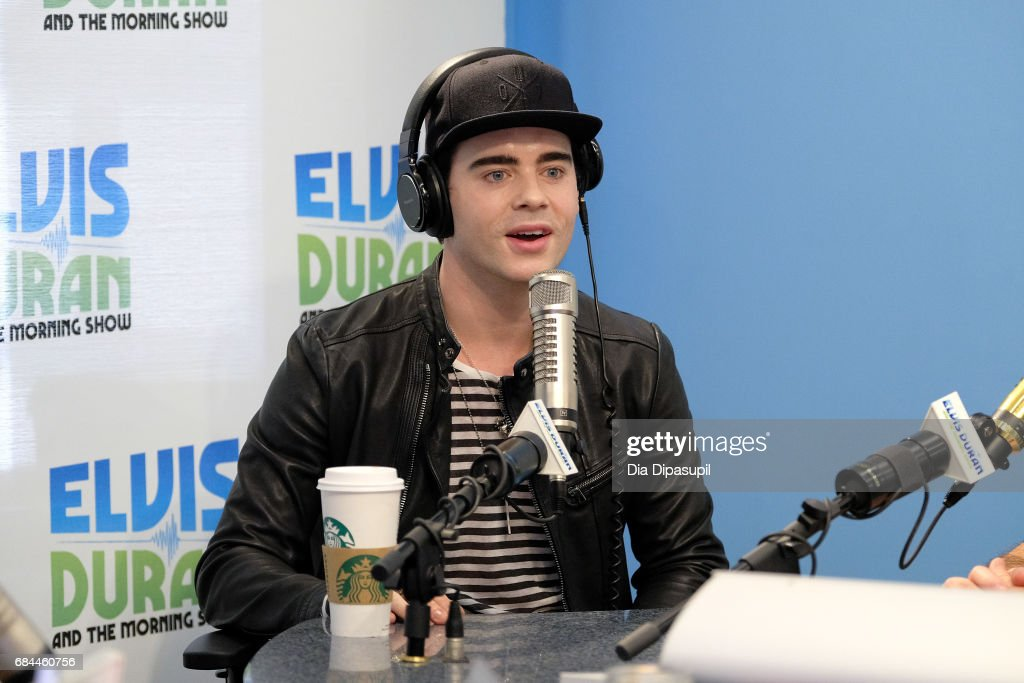 Leon Else visits 'The Elvis Duran Z100 Morning Show' at Z100 Studio on May 18, 2017 in New York City.