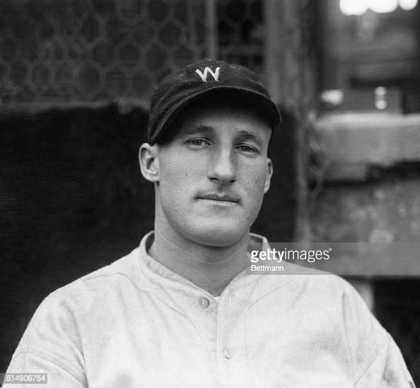 Leon 'Goose' Goslin left fielder for the Washington Senators