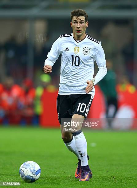 Leon Goretzka during the International Friendly Match between Italy and Germany at Giuseppe Meazza Stadium on November 15 2016 in Milan Italy