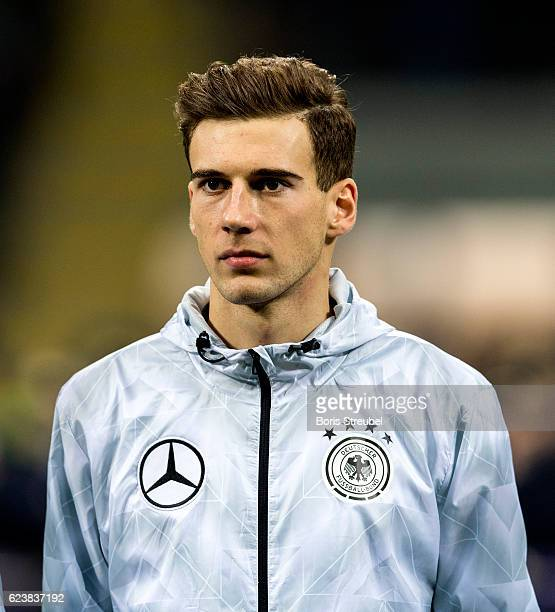 Leon Goretzka of Germany looks on prior to the International Friendly Match between Italy and Germany at Giuseppe Meazza Stadium on November 15 2016...