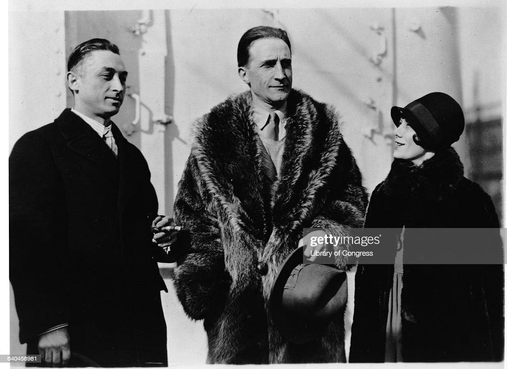 Leon Hartt Marcel Duchamp and Mrs Hartt